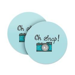 Oh Snap! Coasters