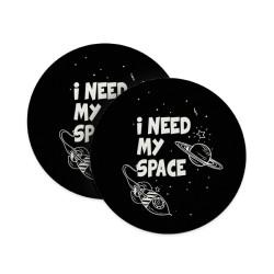 I Need My Space Coasters