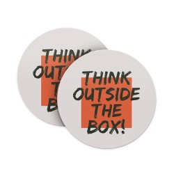 Think Outside the Box Coasters