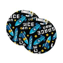 Space Boy Coasters