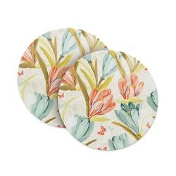 Ferns & Flowers Coasters