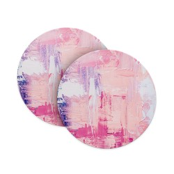 Abstract Paint Splash Coasters