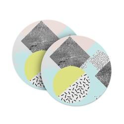 Abstract Shades Coasters