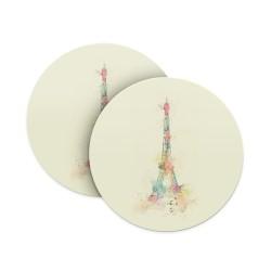 Paris Eiffel Tower Coasters