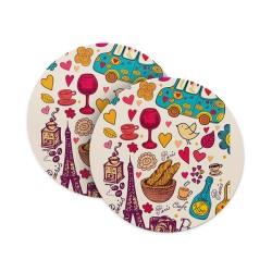 Paris Love Coasters