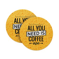 All you need is Coffee Coasters