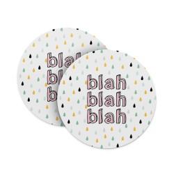 Blah blah blah Coasters