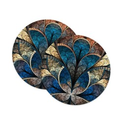 Stonework Petal Coasters