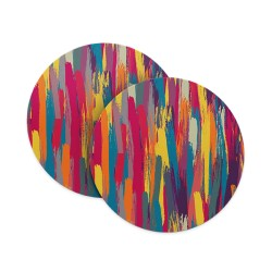 Paint Brush Coasters