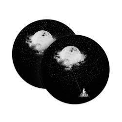 Moon Balloon Coasters