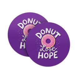 Donut Lose Hope Coasters
