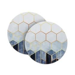 Hexagonal Beauty Coasters
