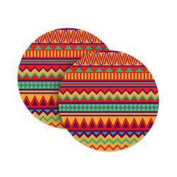 Tribal Seamless Pattern Coasters