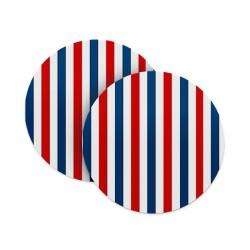 Vertical Stripes Coasters