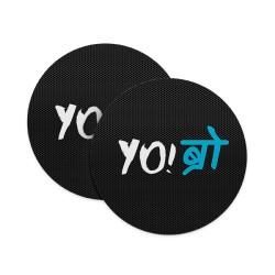 YO Bro Coasters