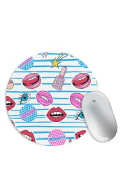 Girly Makeup Love Mouse Pad