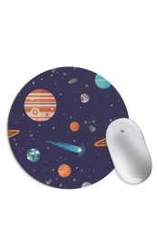 Space Pattern Starry Sky Mouse Pad