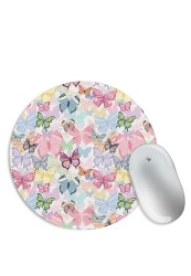 Colourful Butterfly Pattern Mouse Pad