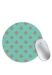 Abstract Colour Pattern Mouse Pad