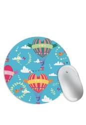 Colourful Hot Air Balloon Love Mouse Pad