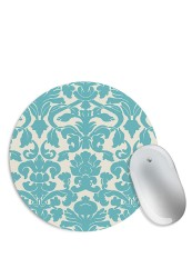 Blue Abstract Pattern Mouse Pad