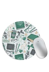 Books and Stuff Mouse Pad