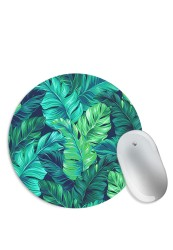 Tropical Rain Forest Leaves Mouse Pad