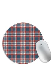 Plaid Shirt Pattern Mouse Pad