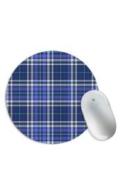 Blue Shirt Pattern Mouse Pad