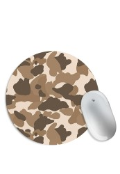 Brown Camouflage Mouse Pad