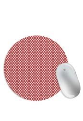 Polka Pattern Mouse Pad