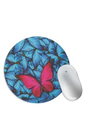 The Red Butterfly Mouse Pad