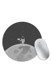Flag on the Moon Mouse Pad