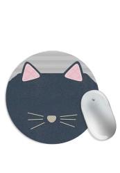 Knit Cat Mouse Pad