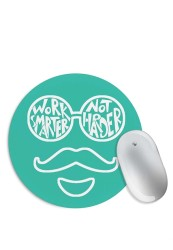 Work Smarter Not Harder Mouse Pad