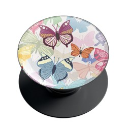 Colorful Butterfly Pattern Phone Grip