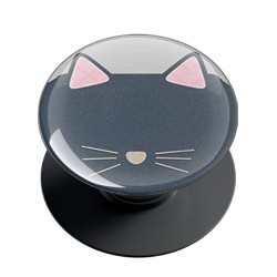 Knit Cat Phone Grip