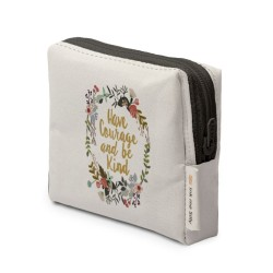 Courage & Kind Floral Coin Purse