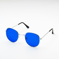 Inkmesilly Rounded Wire Sunglasses