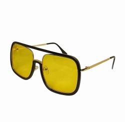Inkmesilly Rectangular Shaped Sunglasses