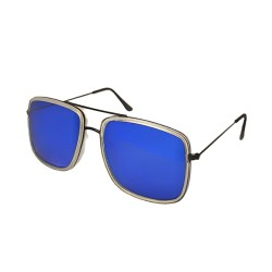 Inkmesilly Double Bridge Squared Sunglasses