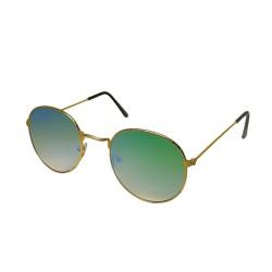 Inkmesilly Oval Shaped Sunglasses