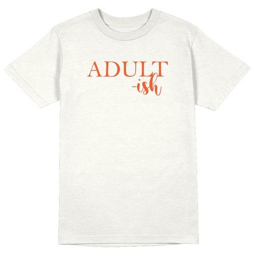 Adult-ish Round Collar Cotton Tshirt