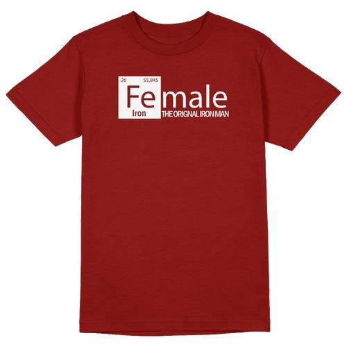 Female – The Original Round Collar Cotton Tshirt