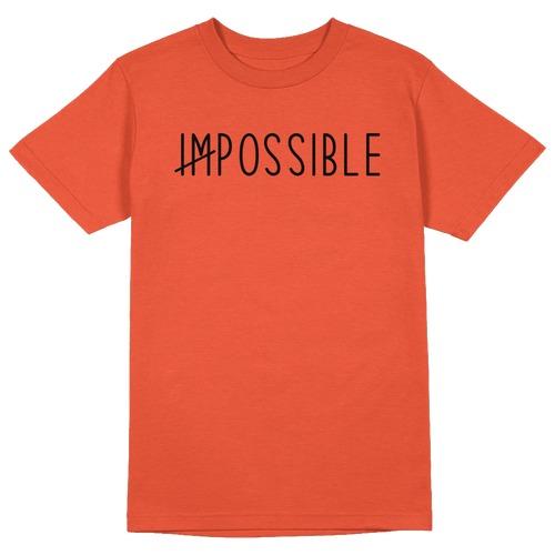 Impossible Round Collar Cotton Tshirt
