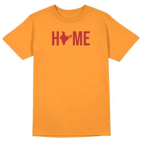 Home India Round Collar Cotton Tshirt