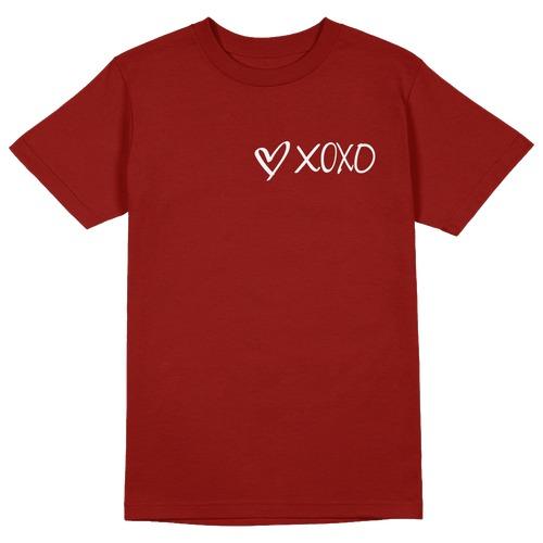 Xoxo Round Collar Cotton Tshirt