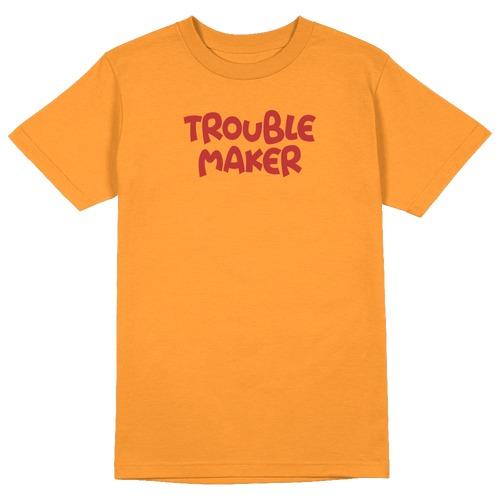 Trouble Maker Round Collar Cotton Tshirt