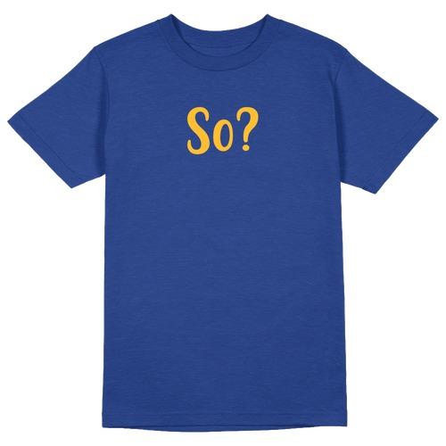 So? Round Collar Cotton Tshirt