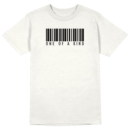 One of A Kind Round Collar Cotton Tshirt